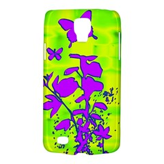 Butterfly Green Samsung Galaxy S4 Active (I9295) Hardshell Case