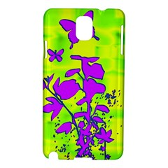 Butterfly Green Samsung Galaxy Note 3 N9005 Hardshell Case