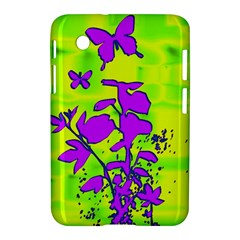 Butterfly Green Samsung Galaxy Tab 2 (7 ) P3100 Hardshell Case