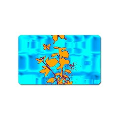 Butterfly Blue Magnet (Name Card)