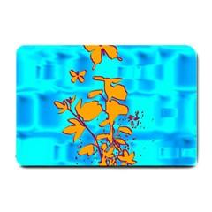 Butterfly Blue Small Door Mat
