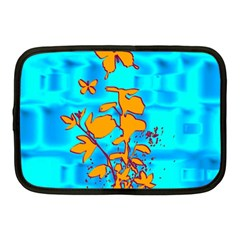 Butterfly Blue Netbook Sleeve (Medium)