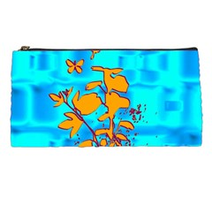 Butterfly Blue Pencil Case