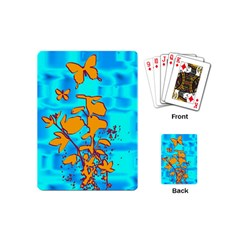 Butterfly Blue Playing Cards (Mini)