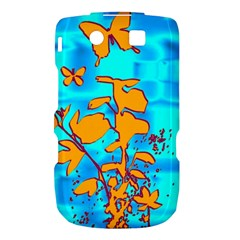 Butterfly Blue BlackBerry Torch 9800 9810 Hardshell Case