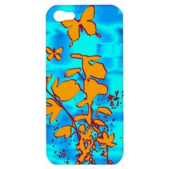 Butterfly Blue Apple iPhone 5 Hardshell Case