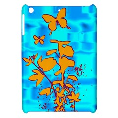 Butterfly Blue Apple iPad Mini Hardshell Case