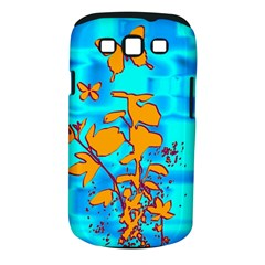 Butterfly Blue Samsung Galaxy S III Classic Hardshell Case (PC+Silicone)
