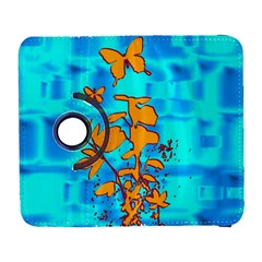 Butterfly Blue Samsung Galaxy S  Iii Flip 360 Case