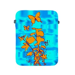 Butterfly Blue Apple Ipad Protective Sleeve