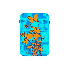 Butterfly Blue Apple iPad Mini Protective Sleeve