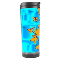 Butterfly Blue Travel Tumbler
