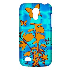Butterfly Blue Samsung Galaxy S4 Mini (GT-I9190) Hardshell Case