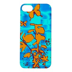 Butterfly Blue Apple iPhone 5S Hardshell Case