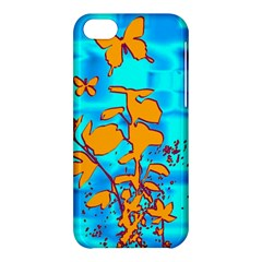 Butterfly Blue Apple iPhone 5C Hardshell Case