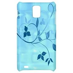 Floral Blue Samsung Infuse 4G Hardshell Case