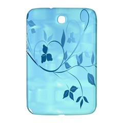 Floral Blue Samsung Galaxy Note 8.0 N5100 Hardshell Case