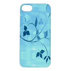 Floral Blue Apple Iphone 5s Hardshell Case