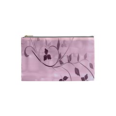 Floral Purple Cosmetic Bag (Small)