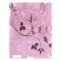 Floral Purple Apple Ipad 3/4 Hardshell Case