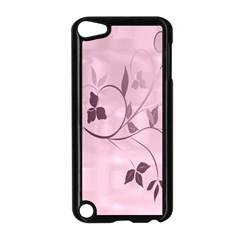 Floral Purple Apple Ipod Touch 5 Case (black)