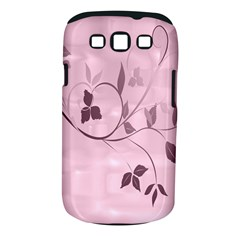 Floral Purple Samsung Galaxy S Iii Classic Hardshell Case (pc+silicone)