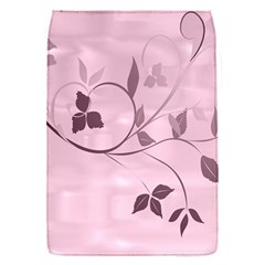 Floral Purple Removable Flap Cover (small)