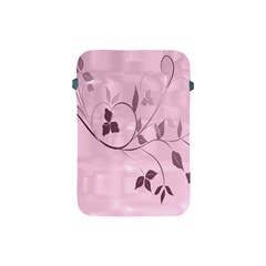 Floral Purple Apple iPad Mini Protective Sleeve