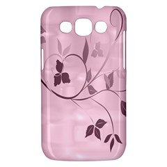 Floral Purple Samsung Galaxy Win I8550 Hardshell Case