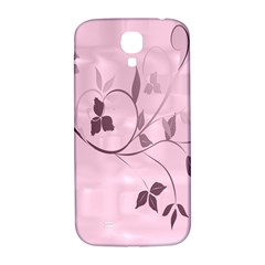 Floral Purple Samsung Galaxy S4 I9500/i9505  Hardshell Back Case