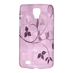 Floral Purple Samsung Galaxy S4 Active (i9295) Hardshell Case