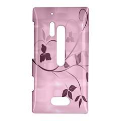 Floral Purple Nokia Lumia 928 Hardshell Case