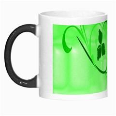 Floral Green Morph Mug