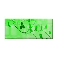 Floral Green Hand Towel