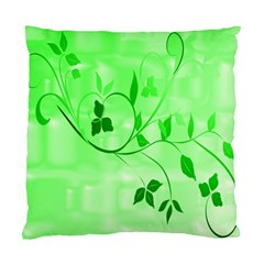 Floral Green Cushion Case (Two Sided)