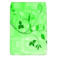 Floral Green Removable Flap Cover (Large)