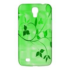 Floral Green Samsung Galaxy Mega 6 3  I9200