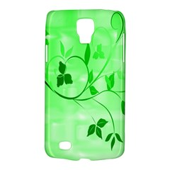 Floral Green Samsung Galaxy S4 Active (I9295) Hardshell Case