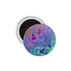 Floral Multicolor 1.75  Button Magnet