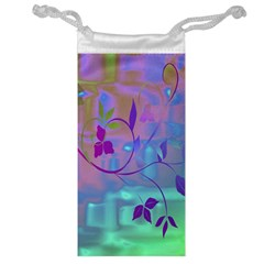 Floral Multicolor Jewelry Bag