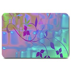 Floral Multicolor Large Door Mat