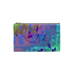 Floral Multicolor Cosmetic Bag (Small)