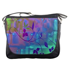 Floral Multicolor Messenger Bag