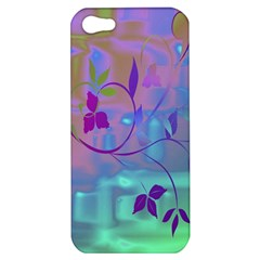 Floral Multicolor Apple iPhone 5 Hardshell Case