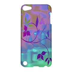 Floral Multicolor Apple Ipod Touch 5 Hardshell Case