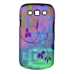 Floral Multicolor Samsung Galaxy S III Classic Hardshell Case (PC+Silicone)