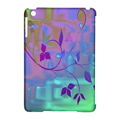 Floral Multicolor Apple iPad Mini Hardshell Case (Compatible with Smart Cover)
