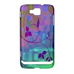 Floral Multicolor Samsung Ativ S i8750 Hardshell Case