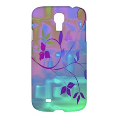 Floral Multicolor Samsung Galaxy S4 I9500/i9505 Hardshell Case