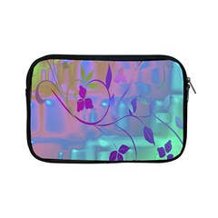 Floral Multicolor Apple iPad Mini Zippered Sleeve